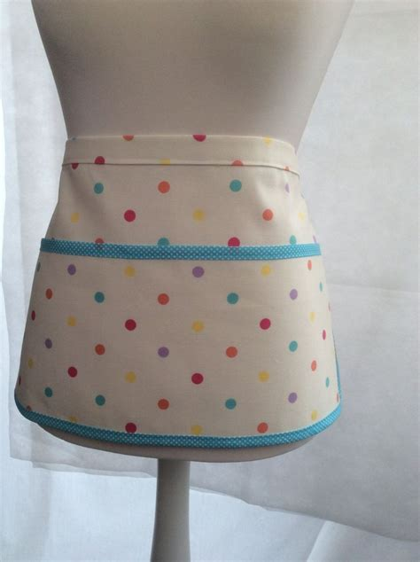 pattern peg apron spotty clothespin apron crafter s apron peg bag apron