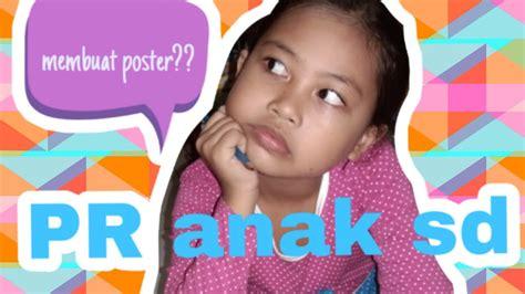 membuat poster tema jagalah kebersihan pr anak sd