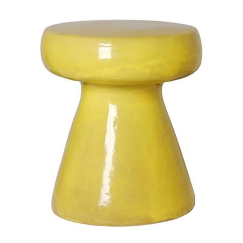 Mustard Colored Stool by Stool In Mustard Yellow Design By Emissary Burke Decor