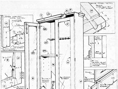 free gun cabinet plans with dimensions wood shelf design plans woodworking projects