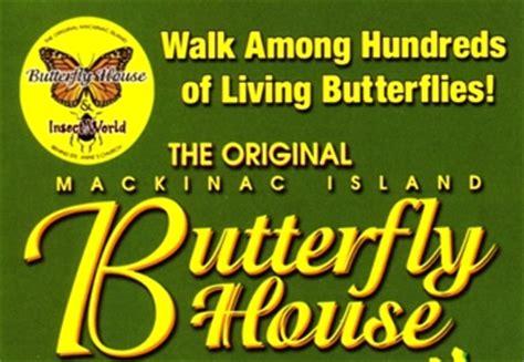 butterfly house mackinac island mackinac island butterfly house mackinawinfo com mackinaw city mackinac island