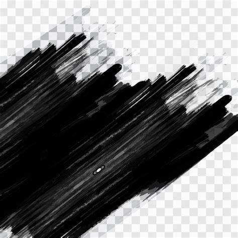 pinceladas negras descargar vectores gratis