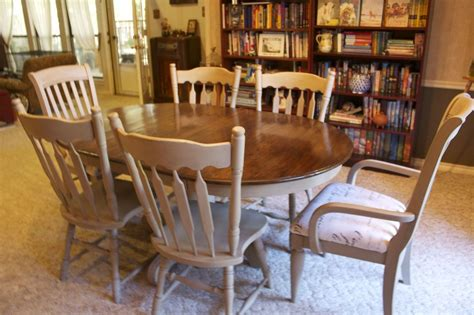 hometalk dining room table redo