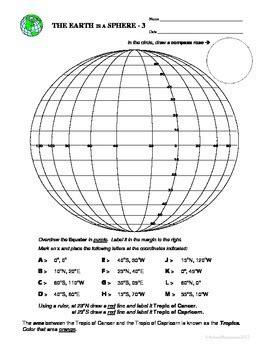 finding latitude and longitude worksheet latitude and longitude by arlene manemann teachers pay