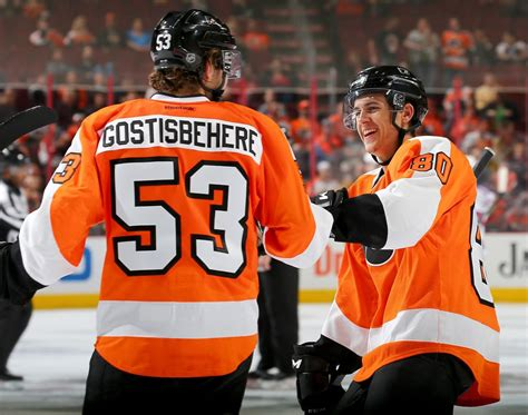flyers bench flyers bench ghost and konecny for montreal tonight