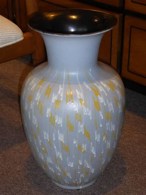 Large Pottery Floor Vases by Large Carstens 1956 Pottery Floor Vase Germany For Sale At