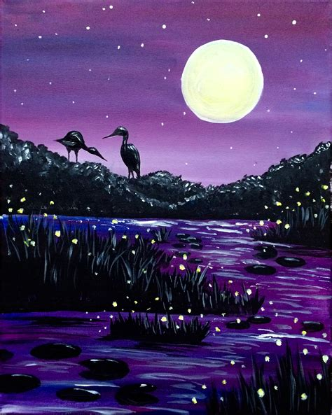 Coral Tree Cafe Encino 06 08 2016 Paint Nite Event