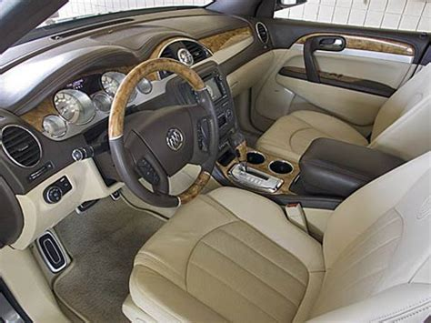 2008 buick enclave interior 2008 buick enclave first look road test motor trend