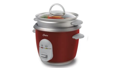 Rice Cooker Carrefour oster 10 cup cooked rice cooker with steam tray