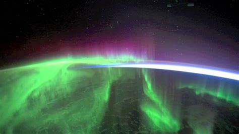 auroras from space pictures nasa aurorae from space youtube