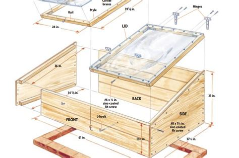 Build An A Frame by 10 Easy Cold Frame Plans To Extend The Growing Season