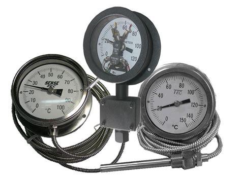Bimetal Termometer Capillary industrial thermometers digital thermometers bimetal