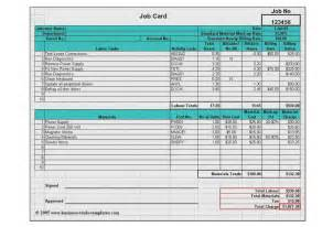 Landscape Forms Manufacturing Labor Materials Cost Estimator Job Card Template