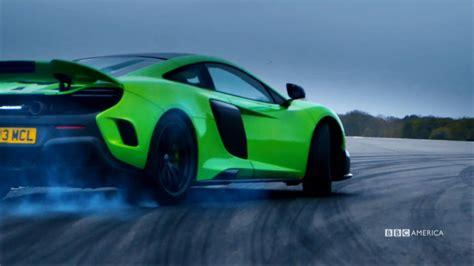 Mclaren Top Gear by Jenson Button Drives The Mclaren 675 Lt Top Gear