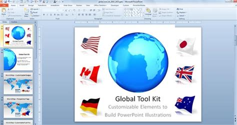 Make Awesome Global Presentations With Global Powerpoint Template Toolkit Free Microsoft Powerpoint Templates Uk