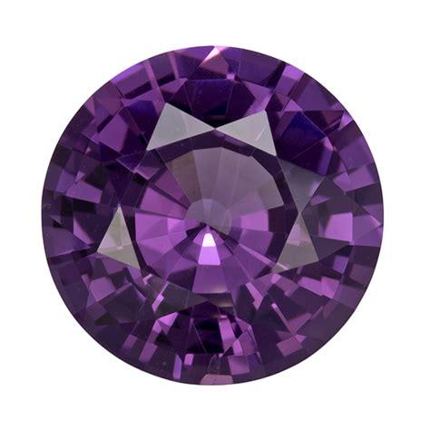 Purple Spinel purple spinel 2 92 carat cut gemstone
