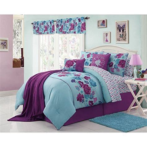 teen girl bed in a bag modern teen bedding beautiful girls kids full size