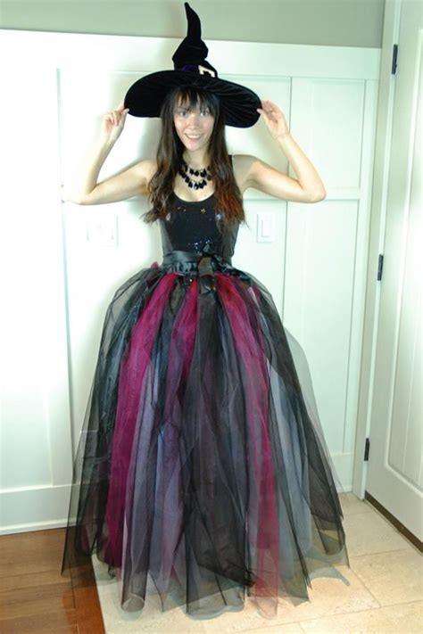 Handmade Witch Costume - diy tutorial diy witch costumes witch costume