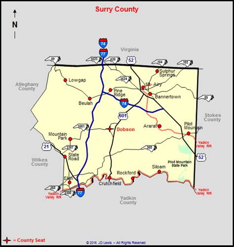 surry county tax map my