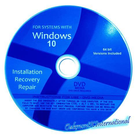 32bit 64bit Kaset Dvd Windows 10 All In One 32bit 64bit Selalu Ready windows 10 home pro 64 bit reinstall upgrade install