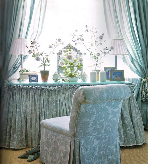 gently pleated skirted dressing table dressing tables