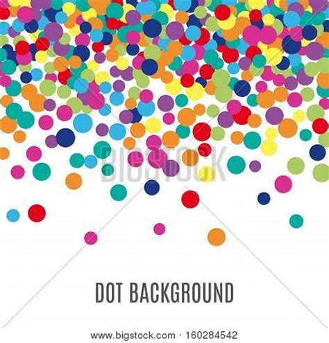 colorful round wallpaper colorful abstract dot background illustration for bright