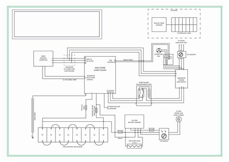 sdmo generator wiring diagram electric generator diagram