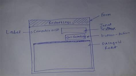 xaml update layout create wpf xaml powershell gui form with visual studio