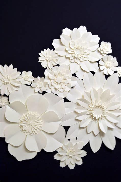 How To Make White Paper Flowers - 90cbd11fb86d5acfee6c3166beef7ffd jpg