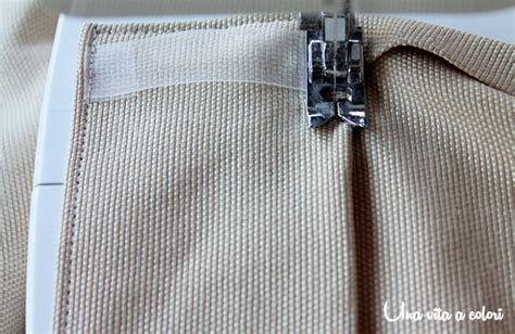 cucitura tende come cucire una tenda tutorial parte 2