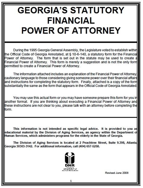 free printable durable power of attorney template free durable power of attorney form pdf template