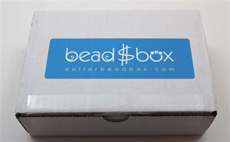 bead box dollar bead box subscription review march 2017 my