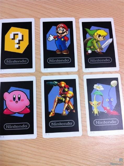 Nintendo Gift Card - 3ds ar cards unveiled news nintendo world report