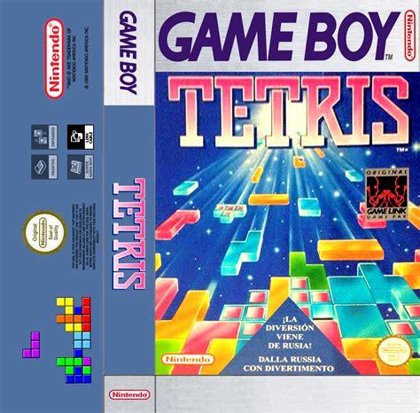 cover cassetta una partida tetris boy cassette cover