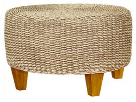 seagrass ottoman round coffee table new round seagrass coffee table furniture