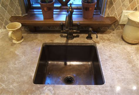 brass bar undermount 15 quot square bar sinks gallery