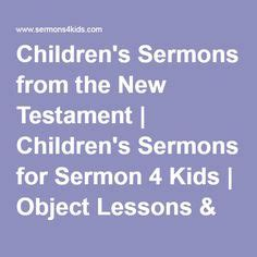 what god is doing testament object lessons for books childrens missions on object lessons nativity