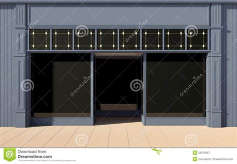 shop front template shop front facade royalty free stock photography image
