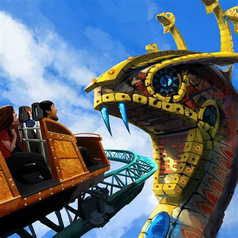 Is Busch Gardens Open by Spin Coaster Cobra S Curse To Open At Busch Gardens In 2016 Tbo