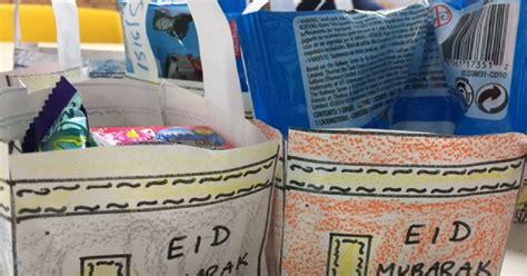 Paper Bag Kabah ilma education free kabah eid bag