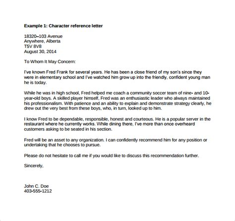 Reference Letter Exle Business 11 Sle Professional Reference Templates Sle Exle Format