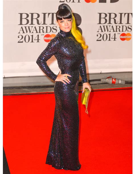Brit Awards Fashion by Aux Brit Awards Allen Come Back Fashion