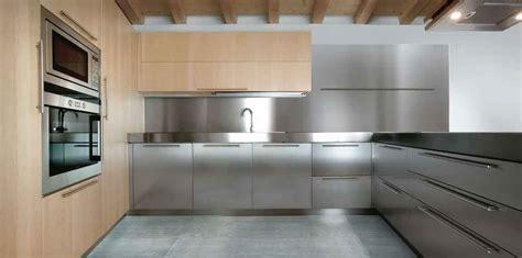 15 contemporary kitchen designs with stainless steel cabinets rilane stainless steel kitchen cabinets steelkitchen