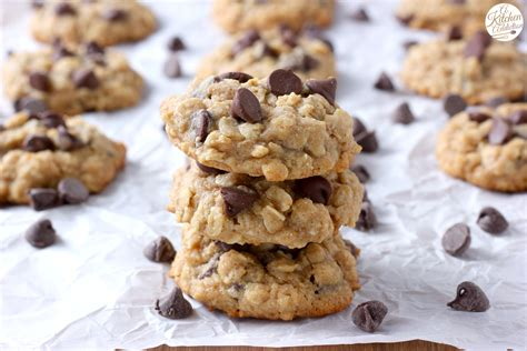 siege cookie chocolate chip honey oatmeal cookies a kitchen addiction