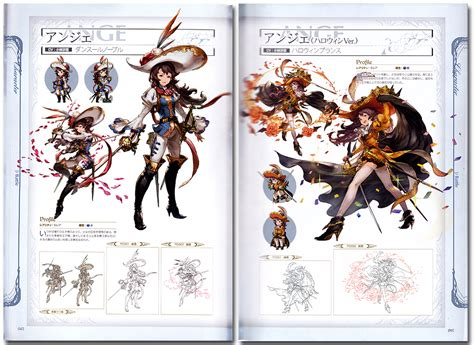 granblue fantasy graphic archive official art book anime