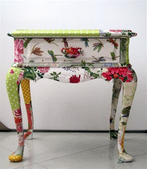 Decoupage On Wood Furniture - furniture decoupage 30 ideas and master classes to