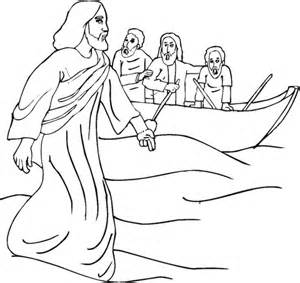 coloring pages jesus miracles miracle coloring page supercoloring