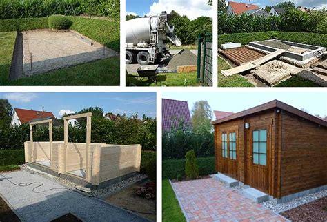 fundament für garage gartenhaus mit aufbau und fundament cp25 hitoiro