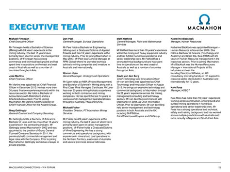 Mba Services Holdings by Macmahon Holdings Mchhf Presents At Wa Forum Slideshow