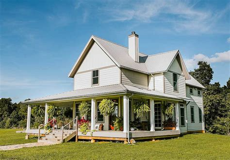 farmhouse with wrap around porch exclusive 3 bed farmhouse plan with wrap around porch